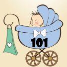 101 Колясочка Оля