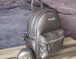Bag - women's backpack, eco-leather, beige, new