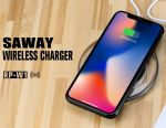 Remax Saway Wireless Charger RP-W1 Black