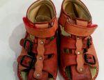 👠 Leather sandals m.panda size 23