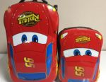 Suitcase children's with a backpack Cars