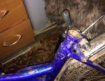 Parçalar için genç bisikleti
