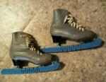 Figure skates, genuine leather, size 22,5