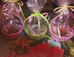 Bouquets and baskets of soaps on March 8, teacher's day