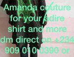 Adire shirt and attire