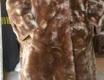 Γούνα παλτό φυσικό αμόλυντο