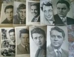 Collection of postcards of actors of the USSR
