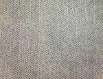 Cut fabric wool (blue herringbone)