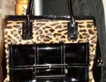 Bag Domani Italy pony fur lacquer