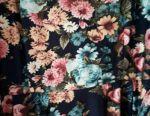 Dress in a flower