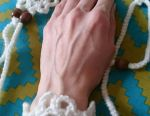 Belt and bracelet