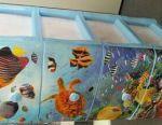 Комод пластик океан 4 выдвижных ящика