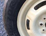 Нові літні шини з дисками 2 шт.