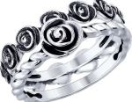 Sokolov Stacked Silver Ring