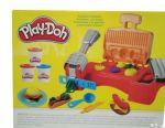 Game set Play-Doh toaster grill and barbecue