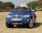 Children's electric car BMW X6 Original Blue