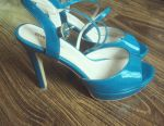 New sandals lacquered