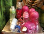 Bottle pack, heater