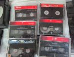 Audio tapes basf / agfa / sony / and for camcorders