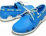 Topsiders (moccasins) Crocs- 40.41