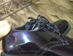 Brogues pantofi lăcuite 38 dimensiune