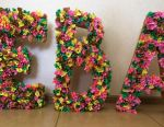 Bulk letters of corrugated paper
