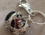 Keychain from the elite collection with rhinestones