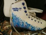 Skates for girls. On the insole 19 cm.