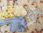 Package of clothes for a boy from 0 to 12 months