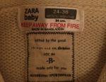 Новая кофта Zara Baby