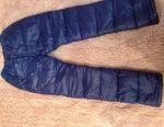 Pantaloni de iarnă pentru un băiat