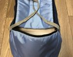 Baby carrier with hard bottom