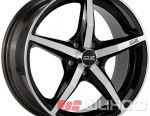 Wheels OZ Racing Canova 8x18 PCD 5x112 ET 35 DIA 75 Black + Diamond cut