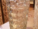 Vază de cristal