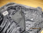 Women's jacket, nubuck genuine leather