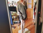 New dress sweater knitted winter women's cut