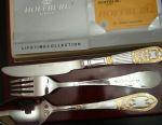 Cutlery set of chrome nickel steel.
