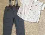 Set de pantaloni și cămașă