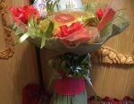 Tea bouquet for March 8