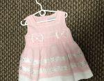 Πολύ απαλό φόρεμα για το μωρό 6-9 μήνες