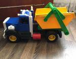 Dump truck garbage truck big