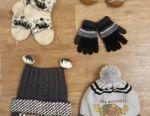 Hats, mittens, gloves, socks