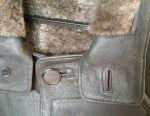 Sheepskin coat for men. Size 46-48