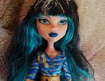 Doll Monster High. Βασικά, Cleo