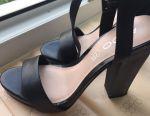 Sandals АLDO leather 37-37,5 р-р