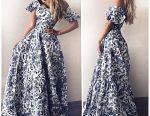 Φόρεμα μόδας Malina όροφο