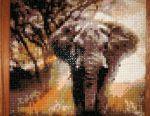 Diamond Mosaic Elephant