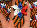 St George ribbon, brooch by May 9