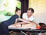 Professional massage, certificate, medical sample
