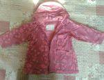 Raincoat jacket 3-5 years